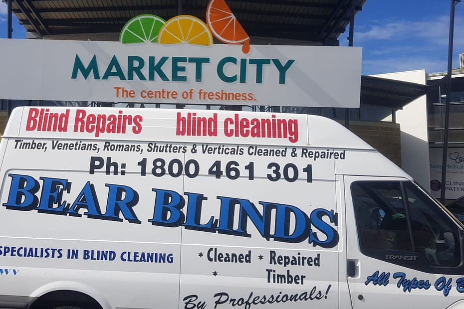 Canning vale bear blinds cleaning repair van mobile service